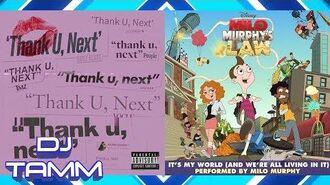 "Ariana Grande vs. ""Weird Al"" Yankovic (Milo Murphy) - thank u, Milo Murphy (Mashup Mix)"