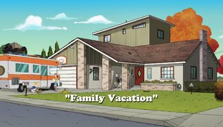 Family Vacation title card