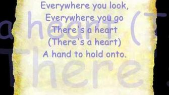 Everywhere You Look With Lyrics ( full house theme )