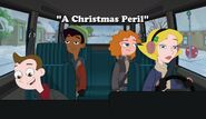 A Christmas Peril title card