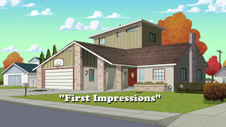 First Impressions title card