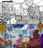 Some Like it Yacht - storyboard comparison 2
