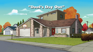 Doof's Day Out title card