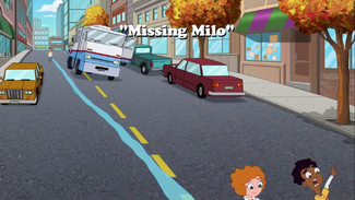 Missing Milo title card