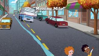 Missing Milo title card