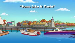 Some Like It Yacht title card