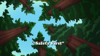 Safety First title card