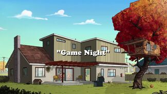 Game Night title card