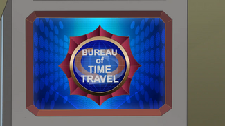 Bureau of Time Travel Logo