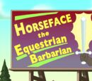 Horseface the Equestrian Barbarian