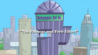 The Phineas and Ferb Effect Title Card