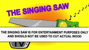 25 the singing saw