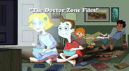 The Doctor Zone Files title card
