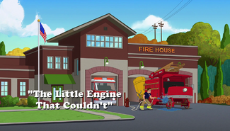The Little Engine That Couldn't title card