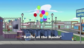 Battle of the Bands title card