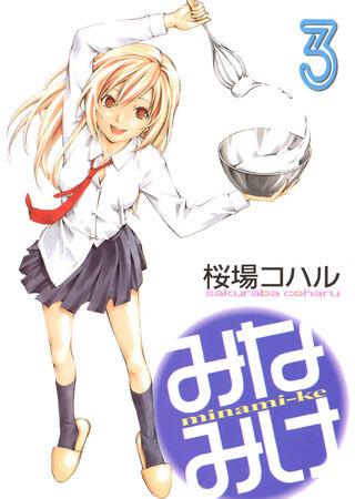 Minami-ke Manga v03 cover