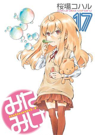 Minami-ke Manga v17 cover