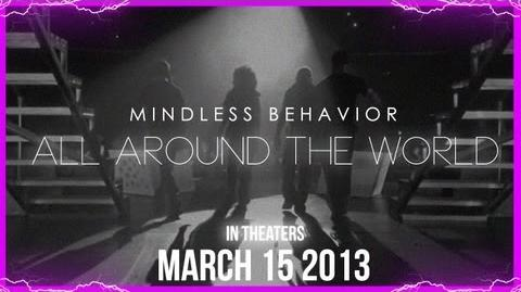 """Mindless Behavior in """"All Around The World"""" (Official Movie Trailer)"""