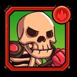 Fire Skeleton