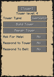 Tower Gui