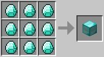 Craft diamondblock