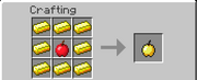 Golden Apple Crafting