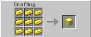 GoldBlock Crafting