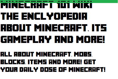 Minecraft 101 Wiki