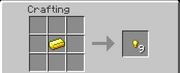 Gold Nugget Crafting