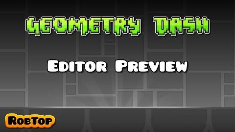 Geometry Dash Update 2.0 Editor Preview