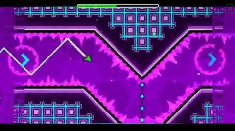 """Geometry dash"" level 17 - Blast Processing (100%)"