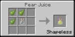 UsefulFoodPearJuice
