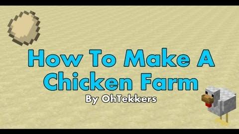Minecraft Chicken Egg Farm - Redstone Tutorials 1.5