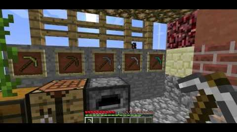 Minecraft Spotlight Pickaxe