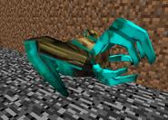Lurker con armadura de diamante