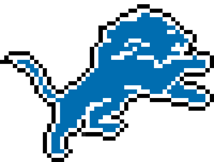 minecraft detroit lions logopng