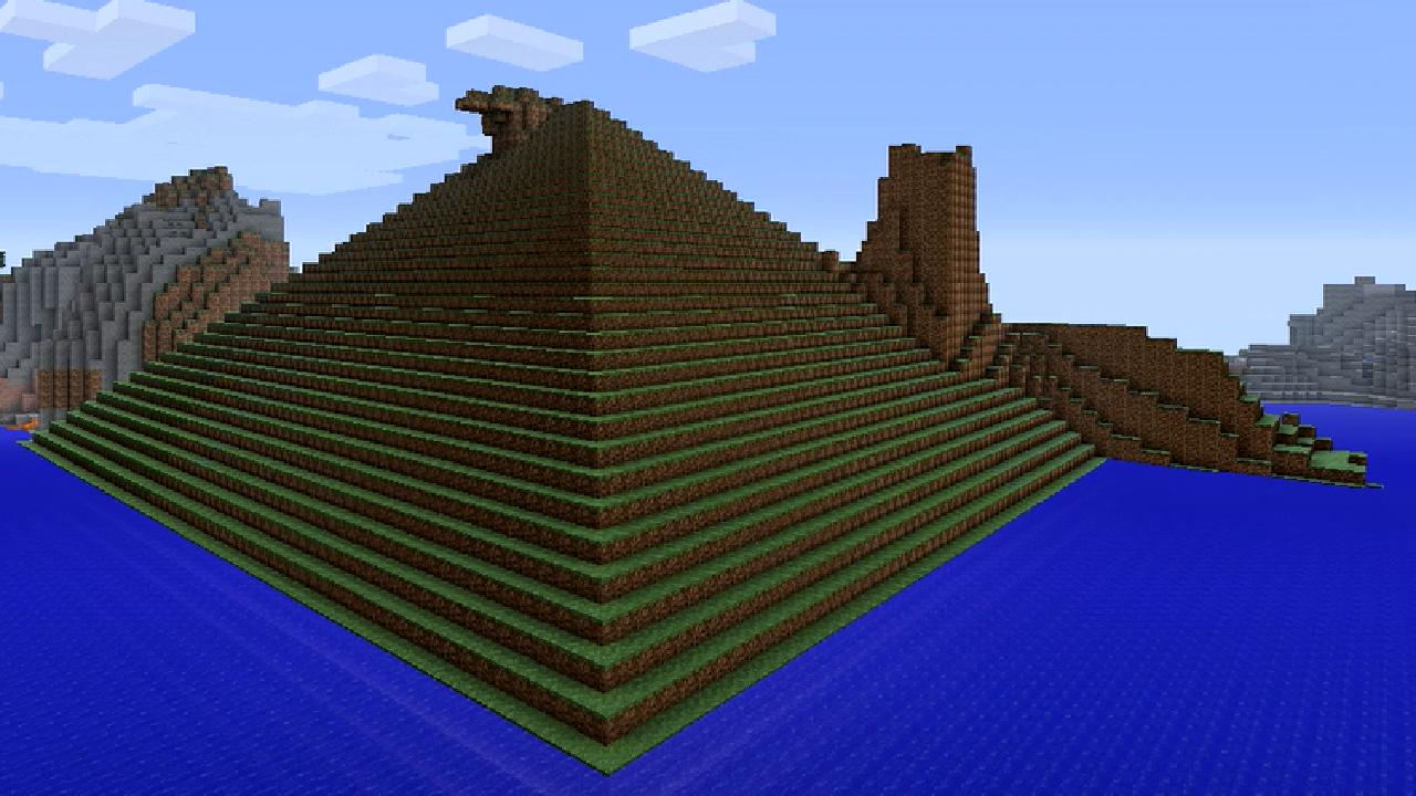 Mount Perfect Pyramid Minecraft Hero Wiki Fandom