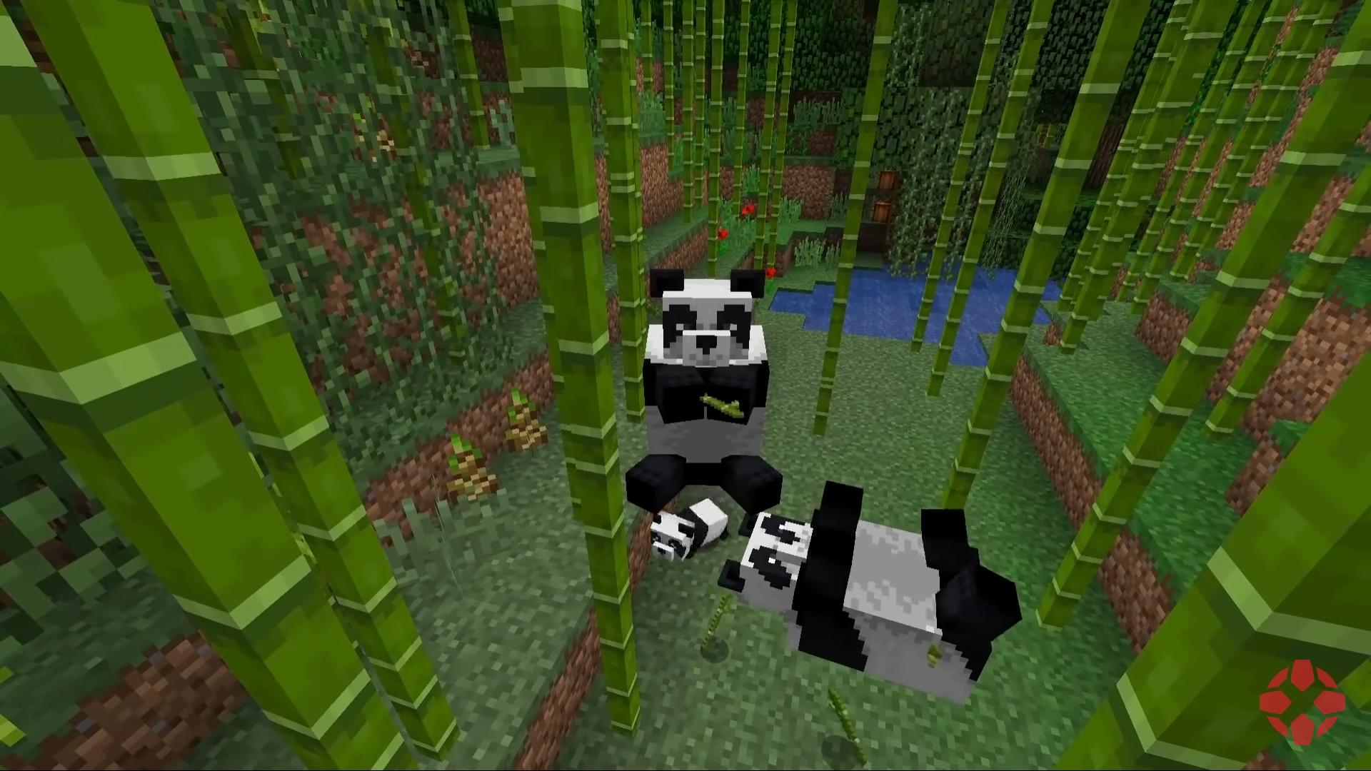 Minecraft panda