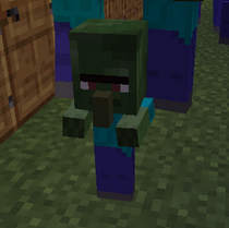 Zombie villager baby