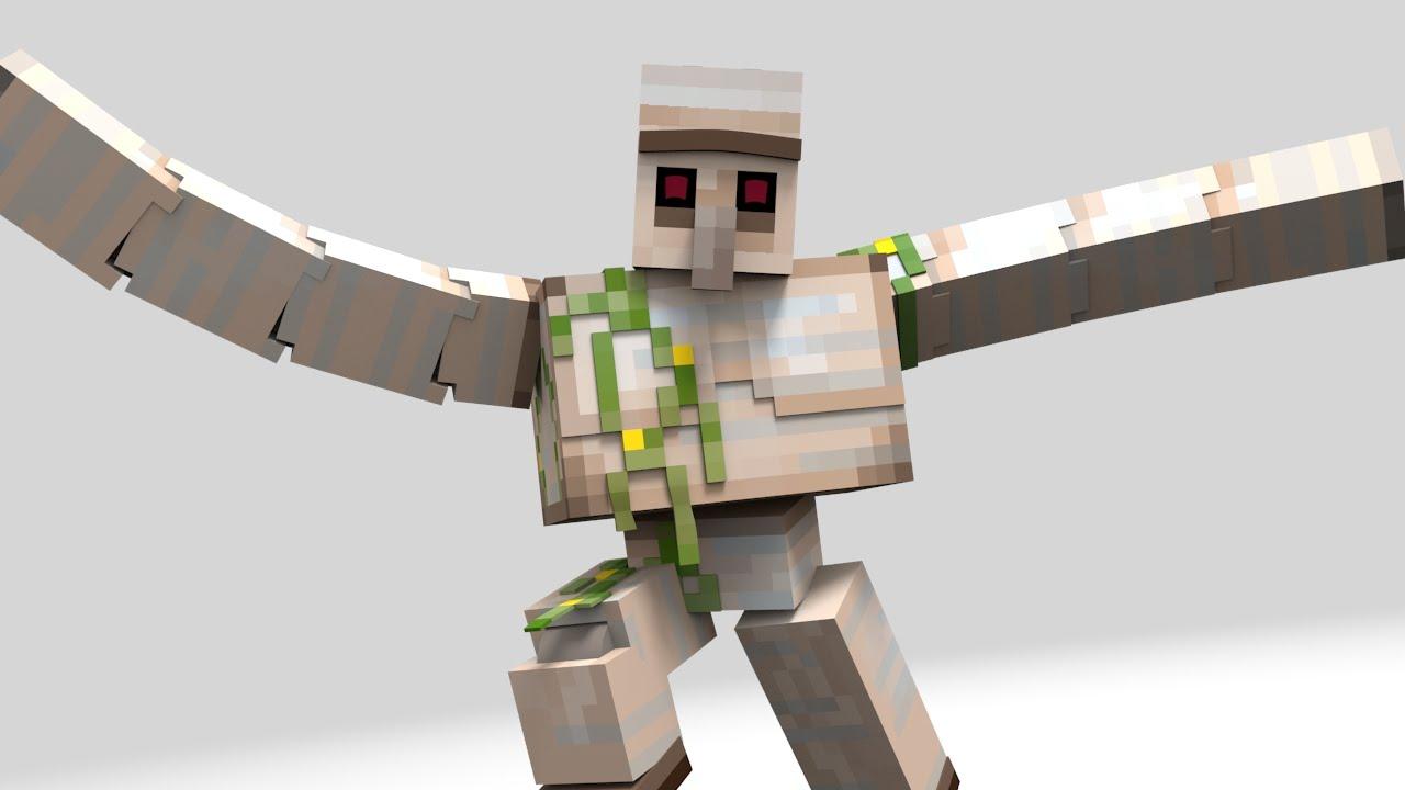 Iron Golem | Minecraft Mobs Wiki | FANDOM powered by Wikia