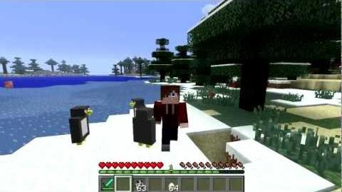 Minecraft Mod Pet Penguin 1.4.6 Deutsch