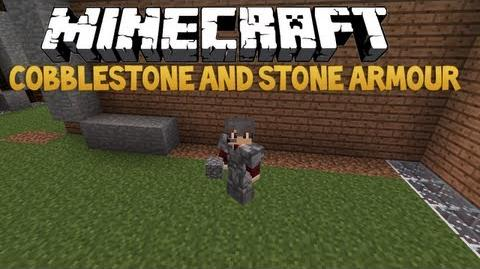 Minecraft Mod Review - Cobblestone And Stone Armour 1.4.7 - Deutsch German
