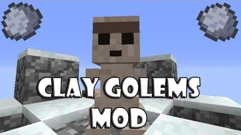 Minecraft 1.4.5 Clay Golems Mod DOWNLOAD