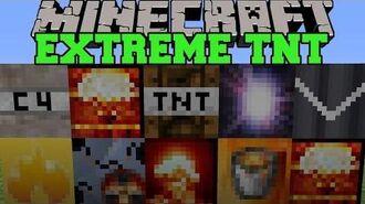 Minecraft EXTREME TNT (SUPERNOVA, HYDROGEN BOMB, & MORE EXPLOSIVES!) Mod Showcase