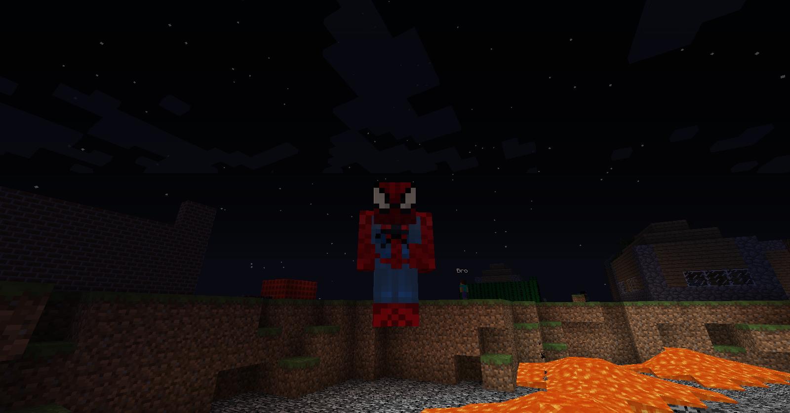 мод все костюмы человека паука на 1710 на майнкрафт #1