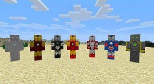 Iron Man Armors Mod | Minecraft Mods Wiki | FANDOM powered