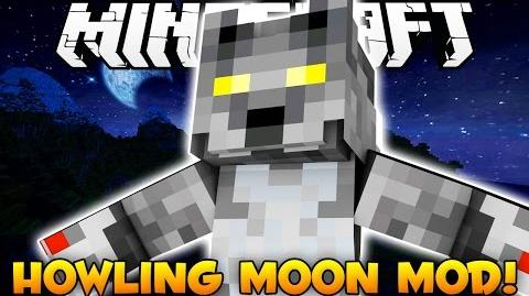 Minecraft EPIC Werewolf Mod - BECOME A WEREWOLF (Howling Moon Mod) - Mod Showcase