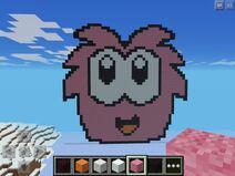 Puffle en minecraft by pinkiepiepuffle-d6ylno1