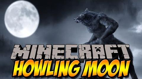 WEREWOLF MOD - Howling Moon Mod - Minecraft Mod Review -DEUTSCH-