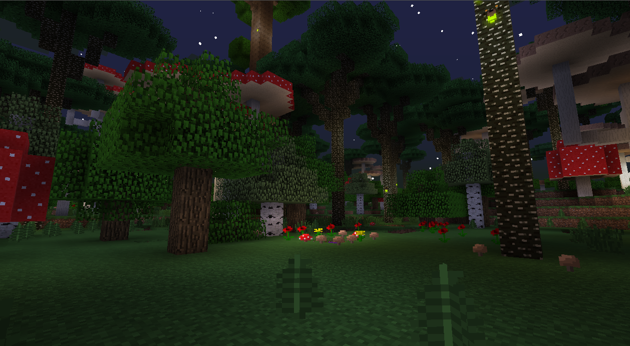 Майнкрафт сумеречный лес картинки